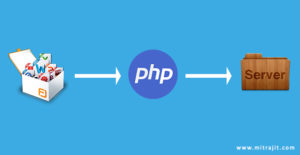 How to upload file to server in PHP