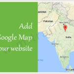 Add Google Map with a marker to your website