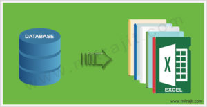 Write data in excel file from database using PHP