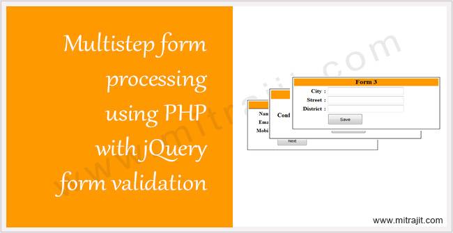 Multi-step form processing using PHP with jQuery form