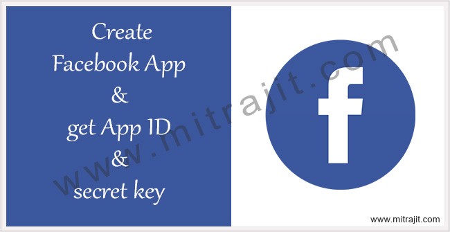 Create Facebook App ID for your website