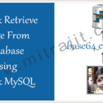 Store and retrieve image from database using PHP and MySQL