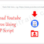 How to download youtube videos using PHP script